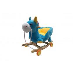 Poney Bleu jaune