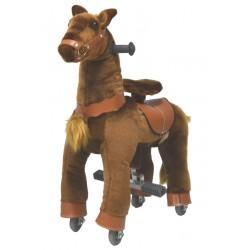 Mon poney qui trotte ! Brun