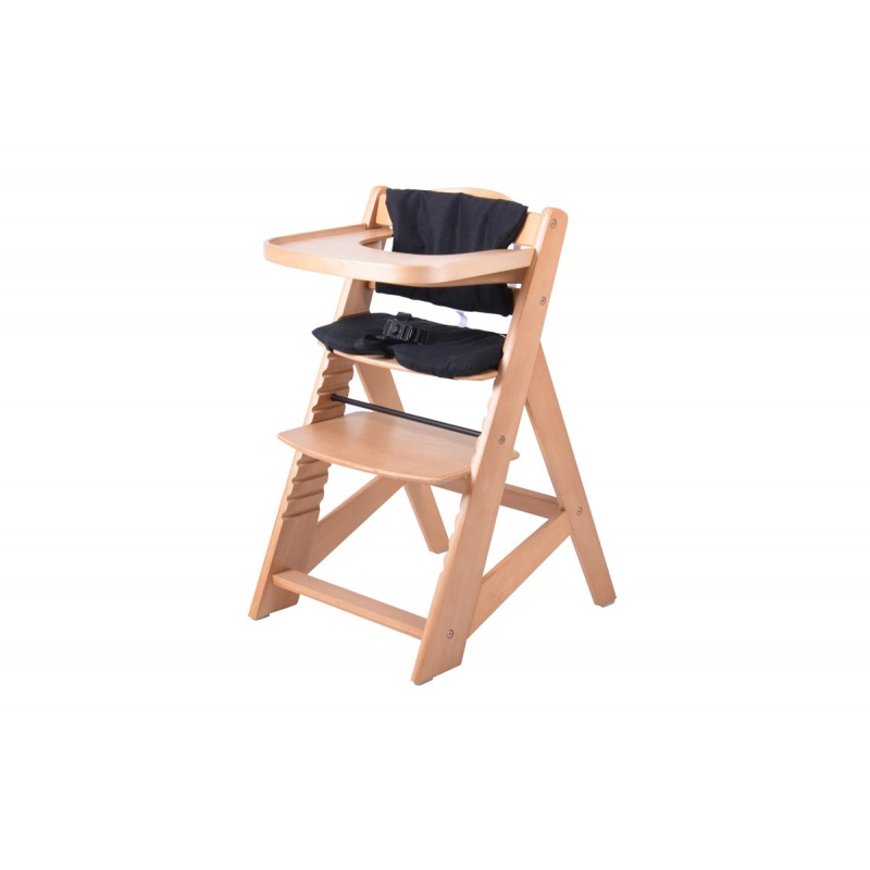 Chaise haute volutive en bois - Chaise haute bebe evolutive bois ...