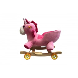 Licorne Rose paillette